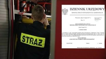 31-05-2017 17:23 Szef MSWiA Mariusz Błaszczak odznaczył Mariusza Błaszczaka. Za zasługi na rzecz ochrony przeciwpożarowej