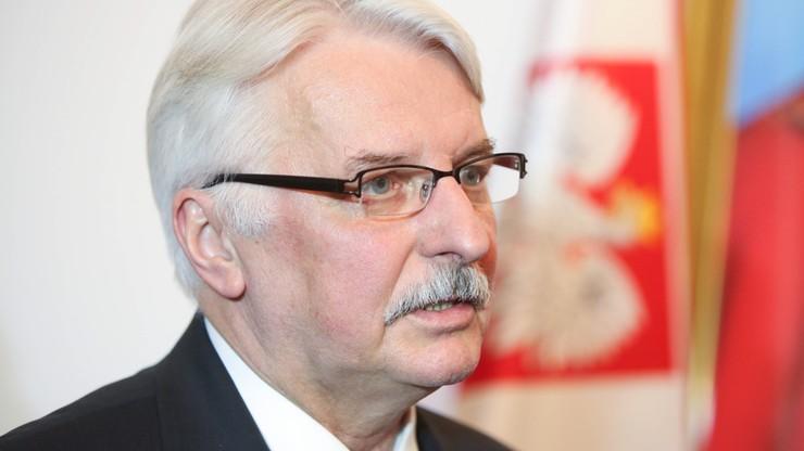 """Waszczykowski będzie na posiedzeniu Komisji Weneckiej """"jak Bóg da, partia pozwoli"""""""