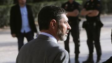 16-10-2017 22:27 Areszt dla dwóch liderów organizacji katalońskich. Są podejrzewani o podburzanie do niepokojów