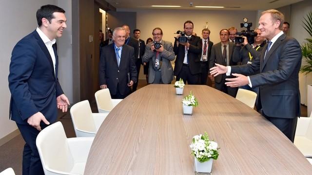 Tusk: wszystkie karty na stół ws. Grecji