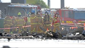 21-02-2017 05:18 Samolot spadł na centrum handlowe w Melbourne. 5 osób zginęło