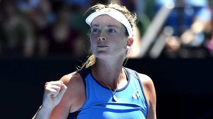 WTA Elite Trophy: Goerges i Vandeweghe w finale