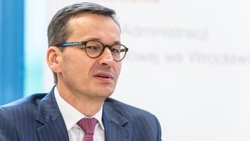Morawiecki: chcemy być przyjaźni wobec przedsiębiorców