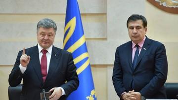 """09-11-2016 21:05 """"Nawet po ludzku zwolnić mnie nie mogą"""". Ukraiński rząd zatwierdził dymisję Saakaszwilego"""
