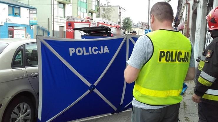 Mężczyzna zaatakowany nożem w Częstochowie. Zmarł na ulicy