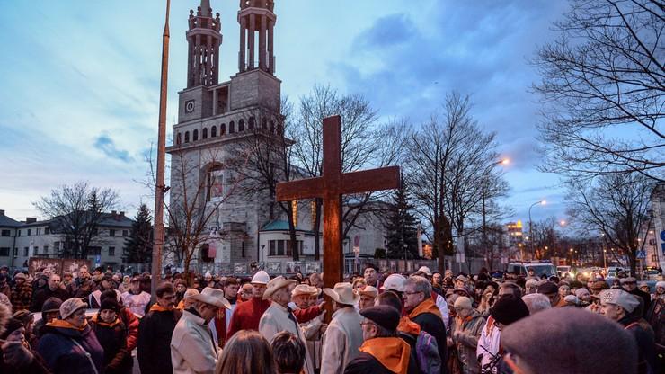 Ogólnopolska Droga Krzyżowa Ludzi Pracy na warszawskim Żoliborzu
