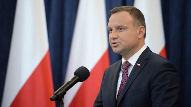 Łapiński: o godz. 10 w poniedziałek oświadczenie prezydenta Andrzeja Dudy