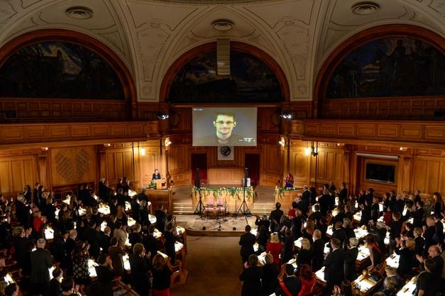 Snowden dostał Nobla - alternatywnego