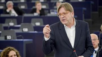 """13-07-2017 17:52 """"Jesteśmy w trakcie obserwowania likwidacji państwa prawa w Polsce"""". Verhofstadt o nowelizacji KRS"""