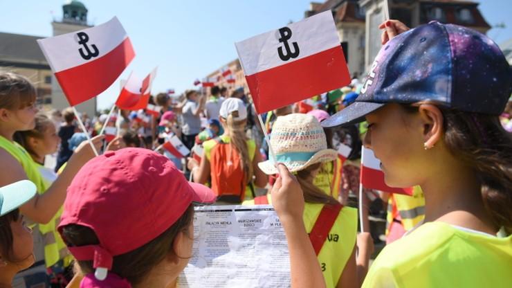 """""""Powstańcy podjęli walkę za wiarę i w imię godności"""". Uroczystości przy pomniku Polskiego Państwa Podziemnego"""