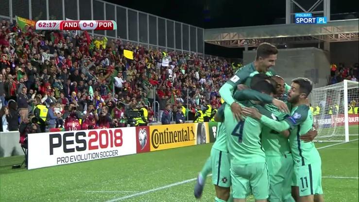 Ronaldo wyrównał rekord Lewandowskiego! Gol nr 15 w el. MŚ 2018