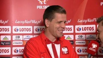 """11-06-2017 08:18 Szczęsny żartuje z Krychowiaka. """"Zagrał dziś więcej niż przez cały sezon"""""""