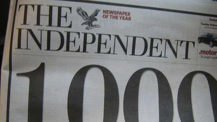 """""""Independent"""" znika z kiosków. Gazeta będzie dostępna tylko online"""