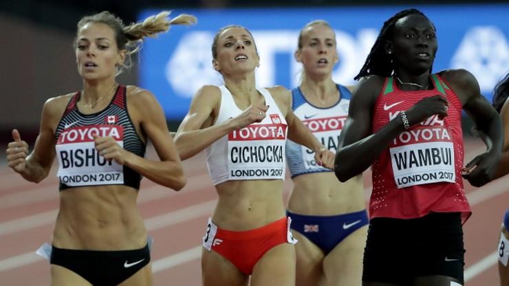 Lekkoatletyczne MŚ: Cichocka szósta na 800 m, złoto dla Semenyi
