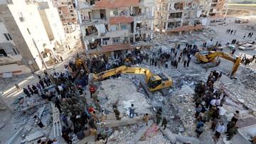 13-11-2017 22:00 Wzrósł bilans ofiar trzęsienia ziemi w Iranie