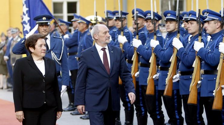 Macierewicz: popieramy integrację Bośni i Hercegowiny z Unią Europejską i NATO