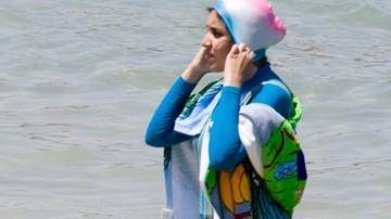 Francja broni zakazu burkini na plażach