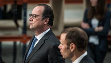 17-05-2016 09:56 Hollande niewzruszony protestami. Będzie reforma prawa pracy