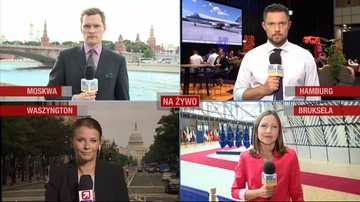"""06-07-2017 17:04 """"Najlepsze przemówienie, jakie wygłosił"""", """"beszta Rosję"""". Świat komentuje słowa Trumpa w Polsce"""