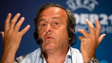 09-05-2016 21:31 Platini żegna się z UEFA. Trwa obstawianie, kto będzie jego następcą