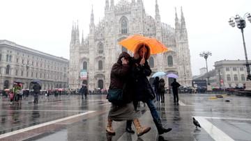 03-01-2016 06:51 We Włoszech zepsuła się pogoda. Wreszcie można oddychać