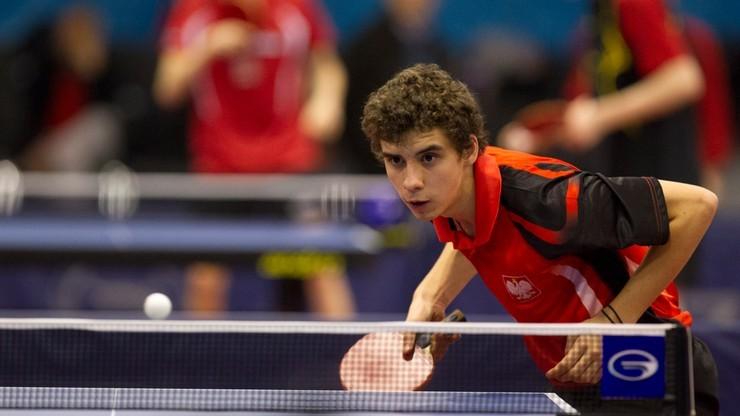 DME w tenisie stołowym: Polacy przegrali z Francją 1:3