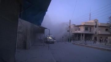 Po ataku wznowiono ewakuację ludności z oblężonych miejscowości w Syrii