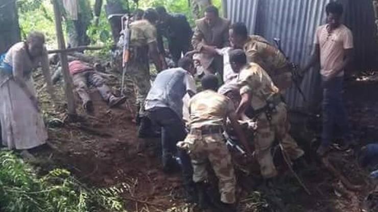 Dziesiątki ofiar antyrządowych protestów w Etiopii