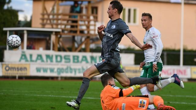 Legia o krok bliżej od Ligi Mistrzów. Zwycięstwo z IFK Mariehamn 3:0