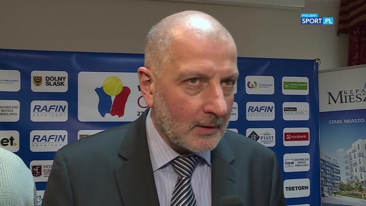 Dutkiewicz: Tenis i Wrocław to świetnie połączenie