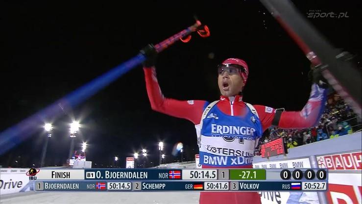 41-letni Bjoerndalen zwycięża na otwarcie sezonu w Ostersund