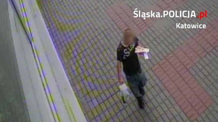 Napadł na kobietę w centrum Katowic. Po publikacji wizerunku został zatrzymany