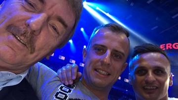 2017-06-25 Polsat Boxing Night: Boniek, Grosicki i Peszko wśród widzów