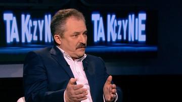 Jakubiak o proteście w Sejmie: Nowoczesna tam siedzi, bo PO siedzi. A PO siedzi, bo Nowoczesna siedzi