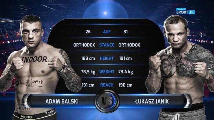 2017-06-24 Adam Balski - Łukasz Janik. Skrót walki