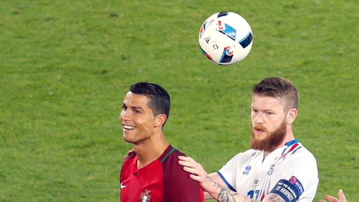 Ronaldo do Islandczyka: chcesz moją koszulkę? A kim ty jesteś?
