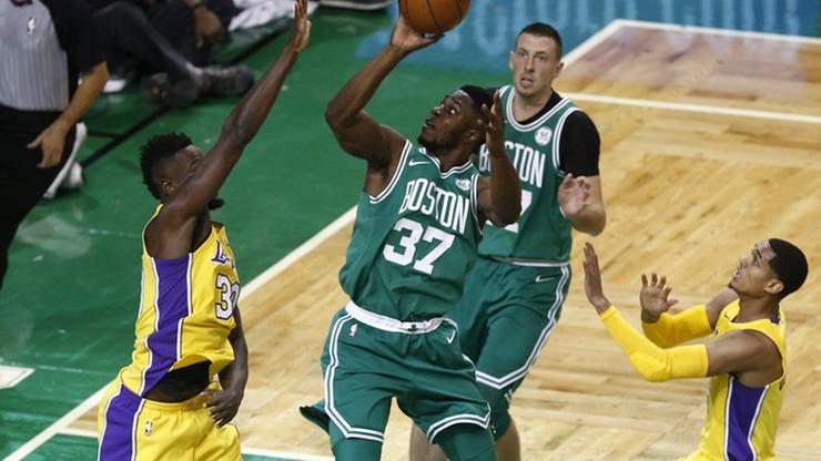NBA: 10. wygrany mecz z rzędu Celtics