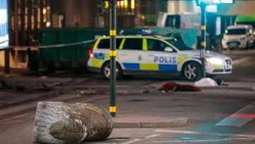 08-04-2017 06:14 Szwedzka telewizja: aresztowano drugiego mężczyznę po ataku w Sztokholmie