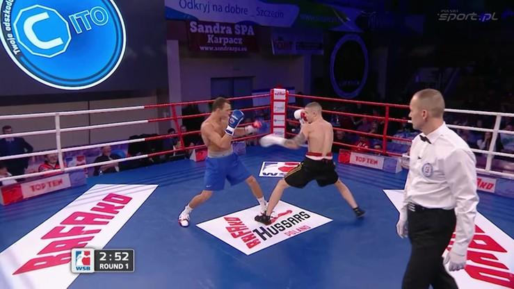 2016-01-30 Szwedowicz vs Silyagin. Skrót walki