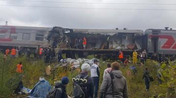 09-09-2017 13:58 Rosja: zderzenie pociągu z ciężarówką. 14 osób rannych
