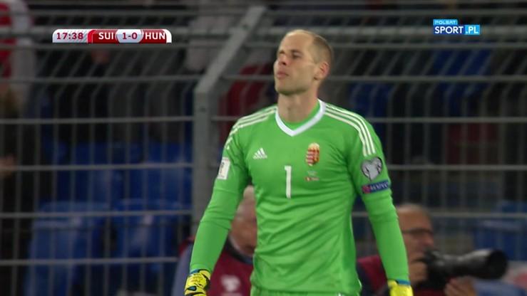 Gulasz niejadalny! Bramkarz Węgier zawalił gola w przykrym stylu