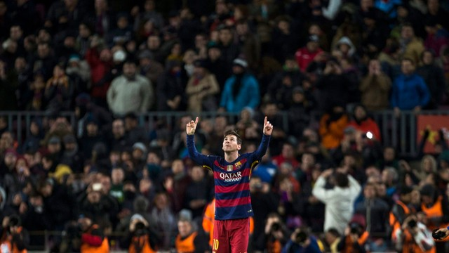 Barcelona pokonała Granadę 4:0, hat-trick Messiego