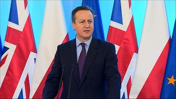 05-02-2016 11:07 David Cameron z wizytą w Polsce. Szydło: Zależy nam, by Wielka Brytania pozostała w UE
