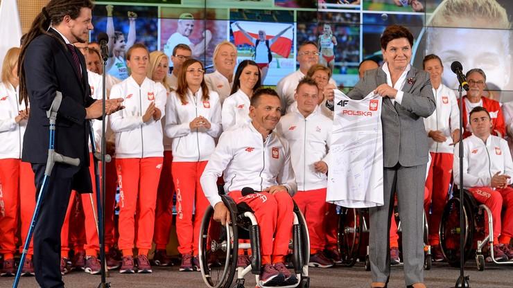 """""""To przykład prawdziwego olimpizmu"""" - premier Szydło podziękowała paraolimpijczykom"""
