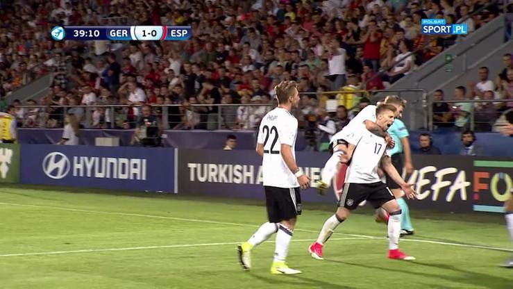 Euro U-21: Niemcy - Hiszpania 1:0. Kapitalny gol Weisera