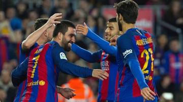 2016-12-22 Puchar Hiszpanii: Strzelecki festiwal Barcelony i Sevilli