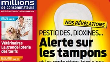 """Francuska organizacja informuje o """"potencjalnie toksycznych tamponach"""""""