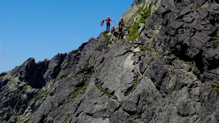 Wypadek w Tatrach. Turysta zginął na Orlej Perci
