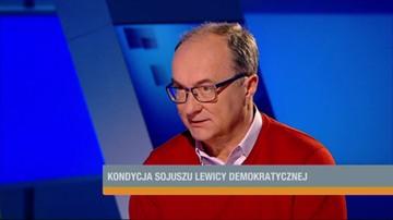 Czarzasty: SLD nie zgodzi się nigdy, żeby opluwać życiorysy ludzi aktywnych w PRL
