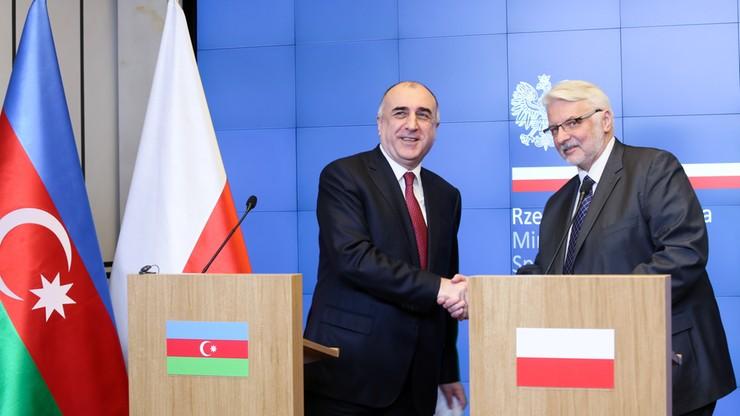 Waszczykowski: liczymy na odbudowę współpracy Polski i Azerbejdżanu
